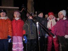 Jarmark arozsvícení vánočního stromu 2010