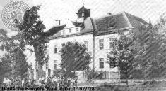 ZŠ naČemínské ulici přestavba 1927/28