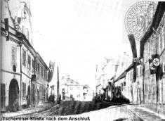Čemínská ulice zaválky