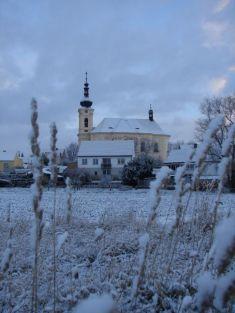 Město v zimě