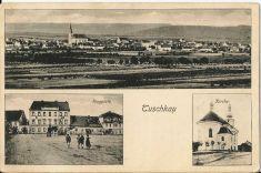 Historické pohlednice P. Komanec