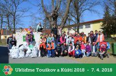 7.4.2018 - Ukliďme Touškov a Kůští